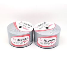600 Ridata 16x White Top Blank DVD-R DVDR Disc Media Wholesale Bulk Lot