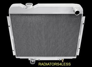 1968 Ford Galaxie Radiator 3 Row Champion Aluminum Radiator