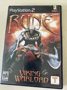 Rune: Viking Warlord PS2 (Sony PlayStation 2, 2001) Complete CIB Tested/Working