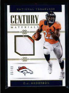 C-J-ANDERSON-2017-NATIONAL-TREASURES-CENTURY-GAME-JERSEY-PATCH-06-49-AN1268