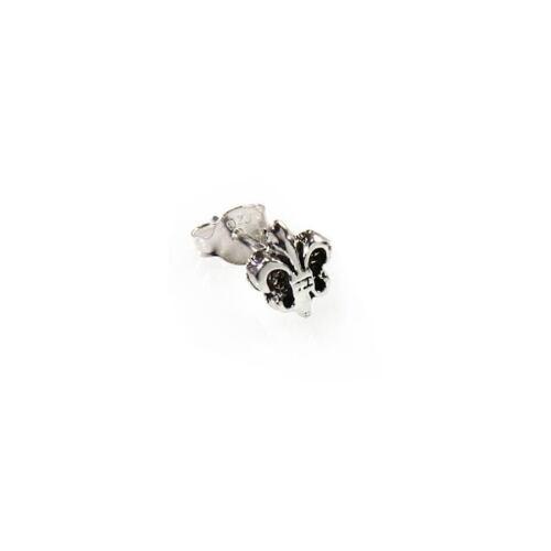 Gothic OHRSTECKER 925 Sterling Silber EINZEL//PAAR Rockabilly Schmuck Ohrpiercing