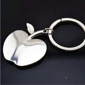 Cute-Metal-Mini-Apple-3D-Chrome-Fashion-Keyring-Keyfob-Charm-Key-ring-chain-Gift