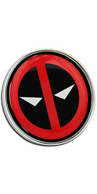 Deadpool Clutch Pin Badge Choice of Gold/Silver