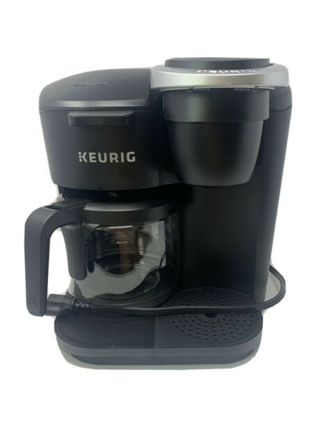 Keurig K-Duo Essentials Coffee Maker, Single K-Cup Pod ...