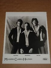 McGuinn Clark & Hillman 10 x 8 1979 US Capitol Records Publicity Photo