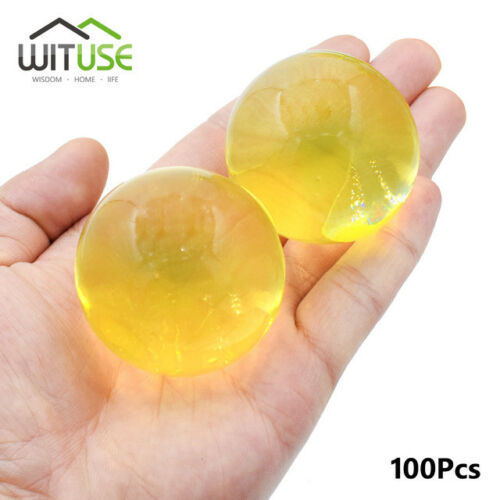 Large Hydrogel Pearl Shaped Big 40mm Crystal Soil Water Beads 100pcs//lot