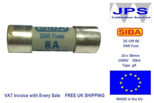 type gR 1000V 5019906 b SIBA 50 199 06 10 x 38 mm DMI Fuse Pick Your Rating