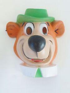 Childs Yogi Bear PVC Costume Mask
