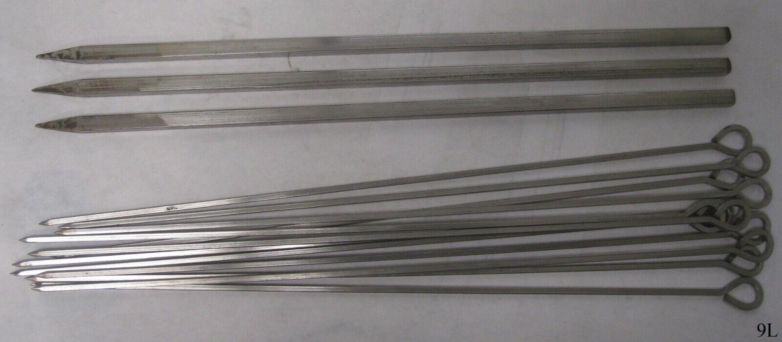 15 PC 18 pulgadas cuadrado de  acero fuerte dosel filetes   3x 12x Recto Con Agujero De Ojo  presentando toda la última moda de la calle