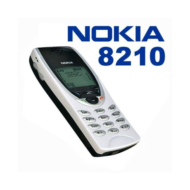 Teléfono Móvil Nokia 8210 Blanco Gsm Ligero Pequeño Juegos Top Calidad