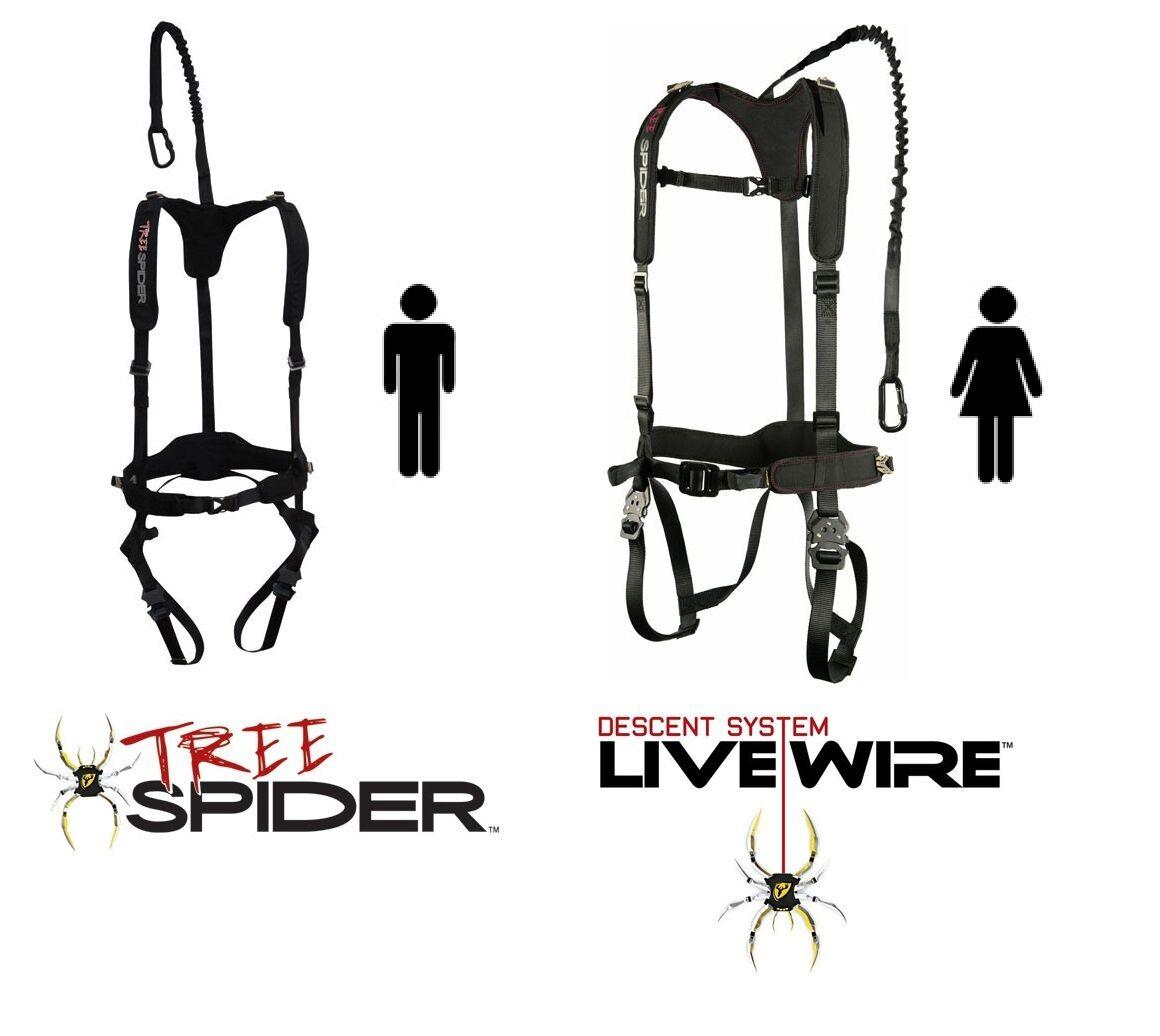Scent Blocker Tree Spider Hombre y Mujer Micro Velocidad Treestand Arnés De Seguridad S M