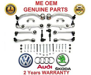 #me 16 Control Arms Set Kit Audi A4 B6 8e B7 8h Cabriolet Suspension Triangles-afficher Le Titre D'origine