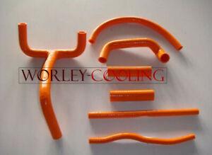 Silicone-Radiator-Hose-Kit-for-KTM-LC4-620-625-640-660-Orange