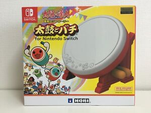 HORI-TAIKO-NO-TATSUJIN-Drum-amp-BACHI-set-for-Nintendo-Switch-japan-import