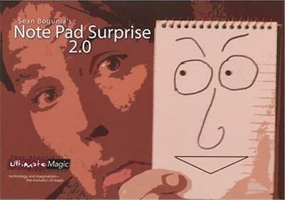 Note Pad Surprise 2.0 - Trick,Stage magic,Party Trick,Comedy,Illusions,life like