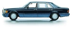 1:43 Minichamps Mercedes 560 SEL W126 1990 darkblue