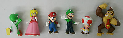 Nintendo Super Mario Bros. 6pc. Figure Collection Set 2