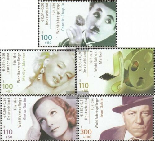 FRG FR.Germany 2218C2222C mint never hinged mnh 2001 Actor