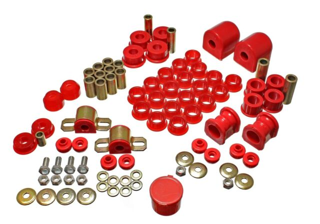 Energy Suspension 7.18107R Complete Master Bushing Kit for 95-98 Nissan 240SX