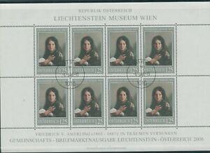 Autriche-Autriche-Vintage-2006-Mi-2574-Timbres-Used-Feuilles-Miniature-Klbg