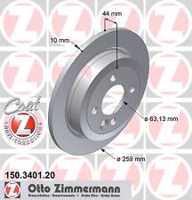 Bosch 0 986 478 344 2 Stück Bremsscheibe