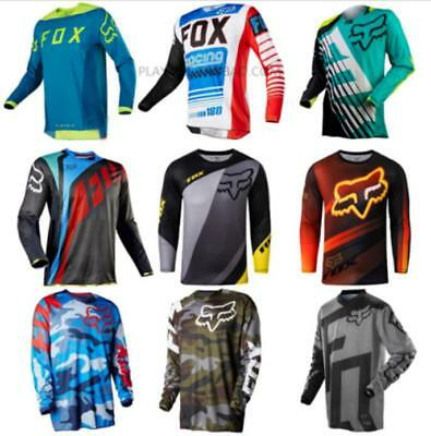 NEW Motocross Jersey 9 Color Sports Off Road Clothing Quick Dry Function