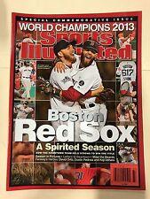 2013 Boston Red Sox World Series Championship Sports Illustrated Commemorative