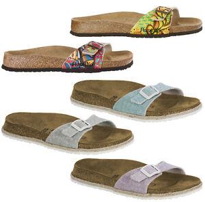 Birkenstock-Papillio-Madrid-Scarpe-Donna-Sandali-Sandali-Pantofole-Clogs