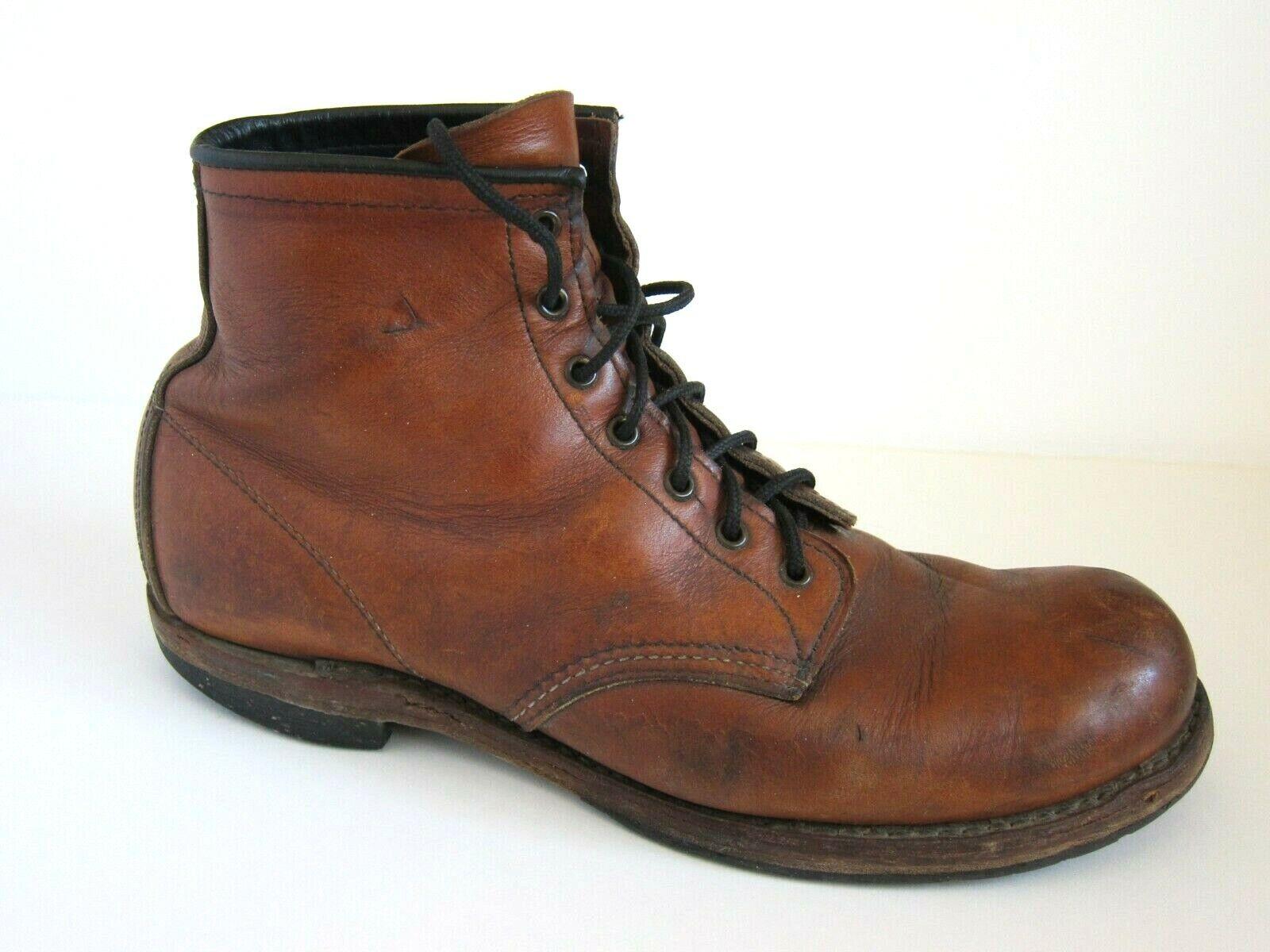 rojo Wing Heritage 9016 Beckman cigarro marrón botas para hombre 11 D 11D