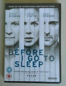 Colin-Firth-Dean-Charles-C-Before-I-Go-to-Sleep-DVD-NEUF