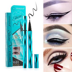 3D-Waterproof-Long-Lasting-Black-Eyeliner-Liquid-Eye-Liner-Pencil-Pen-Makeup-NEW