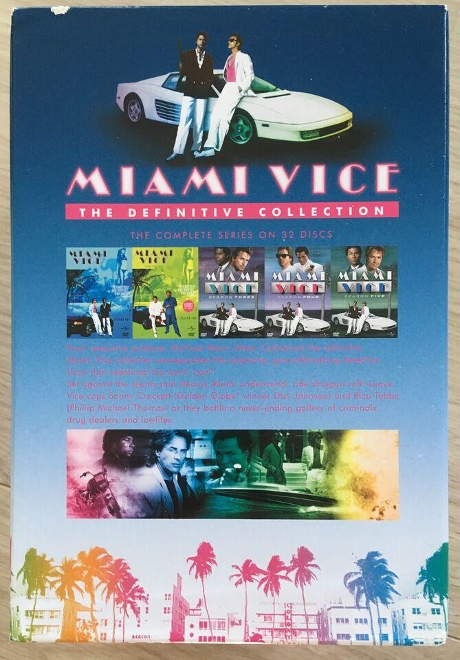 Miami Vice - Complete Box (32-disc), instruktør Michael