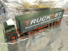 ** Herpa 146715 MB Actros Lowliner Curtain Canvas Semitrailer Duvenbeck 1:87 HO