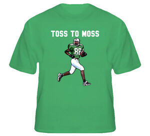 hot sales 8fb96 94bb9 Details about Randy Moss Football Marshall T Shirt
