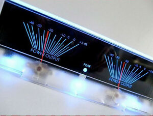 One-Pieces-Double-meter-Blue-lake-Back-Light-Panel-VU-Meter