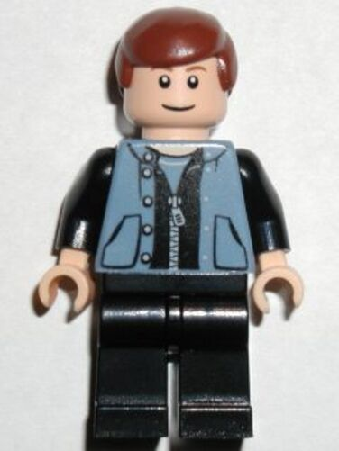 LEGO 1376 - SPIDERMAN - Peter Parker 3 MINI FIG   MINI FIGURE