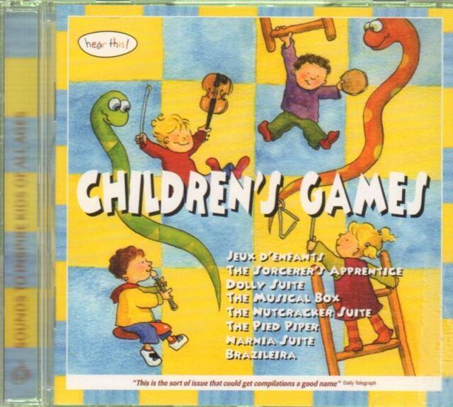 Mexico City Philharmonic Orchestra(CD Album)Children's Games-New