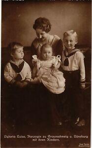 CPA-AK-Viktoria-Luise-v-Braunschweig-mit-Kindern-GERMAN-ROYALTY-867708