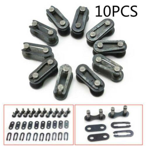 10x Bicycle Bike Single Speed Quick Chain Master Link Connector Repair Kits