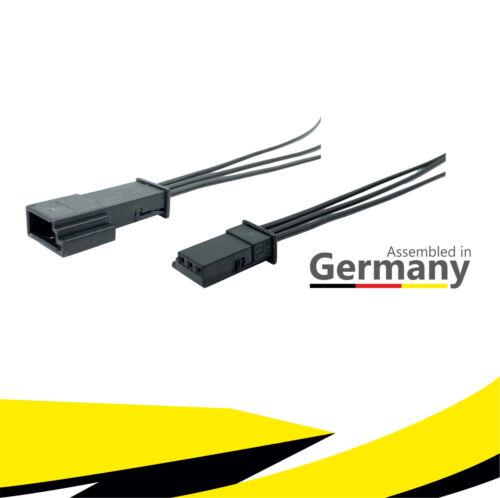 Buchse+Stecker 3-polig Reparatursatz 61138377072 6905977 1-968700-1 für BMW AUDI