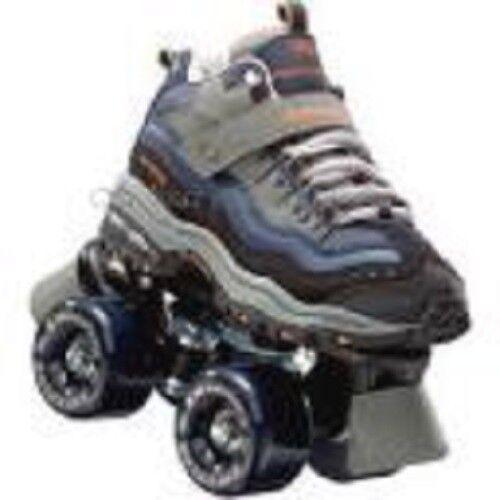 Größe 1 youth SKECHERS 4 WHEELER ROLLER SKATES skate quad quad skate derby childrens kids bb5956