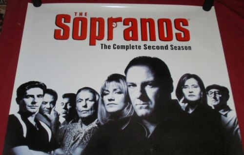 The Sopranos HBO Poster 27 x 39 Second Season James Gandalfini Tony Soprano