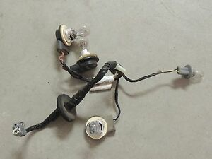 s l300 05 09 ford mustang tail light wiring harness, bulb sockets oem oem tail light wiring harness at honlapkeszites.co