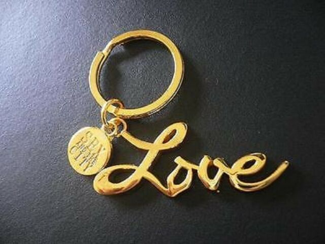 Sex and the city love keyring