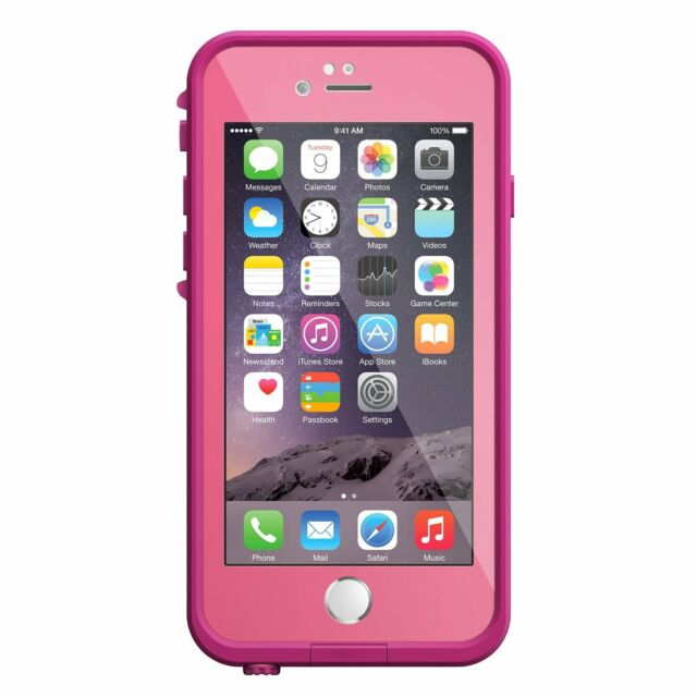 buy online 96608 0bf82 LifeProof Fre Case for iPhone 6 6s - Pink