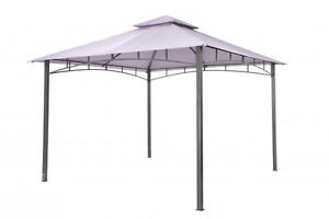 Tepro Gartenpavillon Waya lavendel 330 x 330 x 290 cm Pavillion Partyzelt