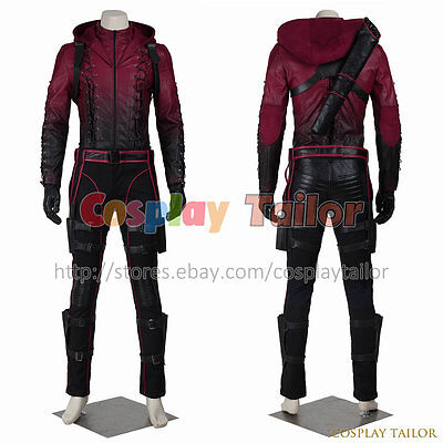 Customize Green Arrow Season 3 Roy Harper Cosplay Costume on Your Size