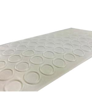 100 Slip Stopper Size 10 x 1mm-Noise Stopper Adhesive Feet Rubber Buffer Rubber Feet