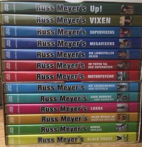 💋 13x RUSS MEYER DVDs Box 1+2 💋 Erotik + XXL Titten Sex