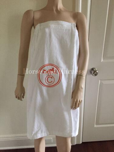 TOWEL SPA BATH WRAP EMBROIDERED MONOGRAMMED  BIRKIN 35 CM FAN BRIDE SHOWER GIFT